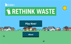 Play the Rethink Waste Game